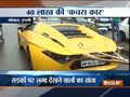 Man promotes Mission Clean India in unique way, uses his sports car as garbage vehicle