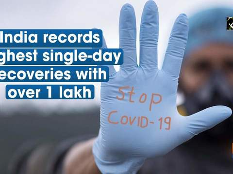 India records highest single-day recoveries with over 1 lakh