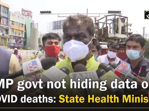 MP govt not hiding data on COVID deaths: State Health Minister
