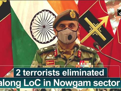 2 terrorists eliminated along LoC in Nowgam sector