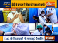 Kurukshetra: TMC leaders got vaccine shots, sparks controversy