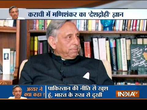 Congress likely to expel Mani Shankar Aiyar from the party