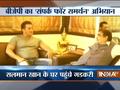 Sampark for Samarthan: Nitin Gadkari Meets Salman Khan, Salim Khan, Nana Patekar