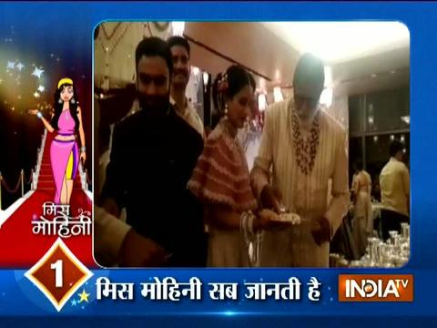 ईशा अंबानी के रिसेप्शन में अमिताभ बच्चन-आमिर खान ने परोसा खाना