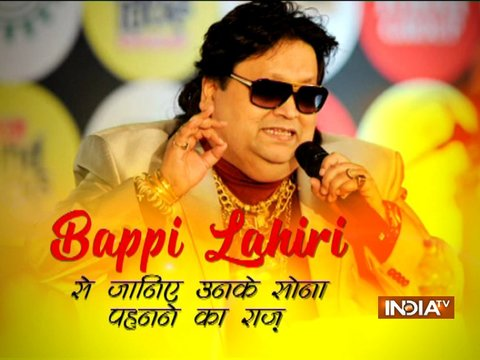 I believe in all the religions, says music composer Bappi Lahiri