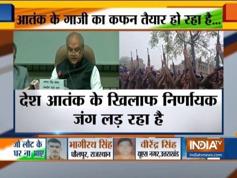 दिल्ली में सर्वदलीय बैठक के बाद नरेंद्र सिंह तोमर ने मीडिया को संबोधित किया