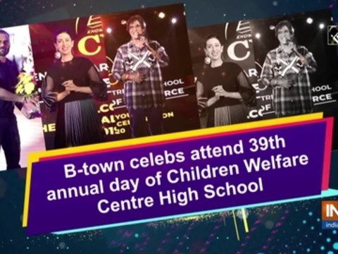 B-town celebs attend 39th annual day of Children Welfare Centre High School