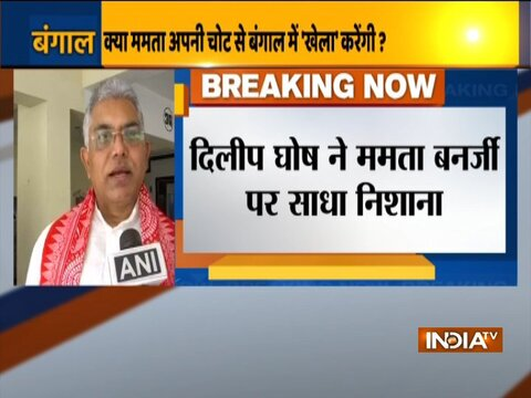 Dilip Ghosh hits out at Mamata Banerjee,says people have rejected her