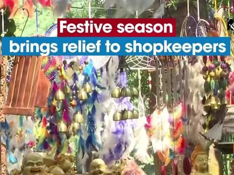 Festive season brings relief to shopkeepers