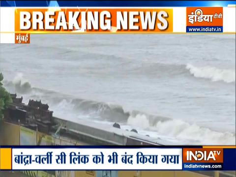 Breaking News: Heavy rains lash coastal Maharashtra