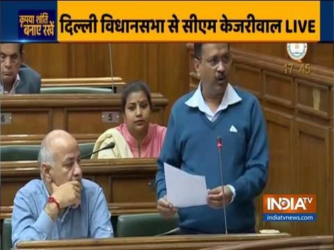 दिल्ली हिंसा पर सीएम केजरीवाल ने कहा- राजधानी के हिंदू और मुस्लिम कभी नहीं लड़ना चाहते