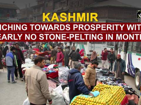Kashmir inching towards prosperity with nearly no stone-pelting in months