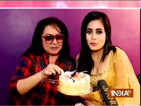 TV actress Neelu Vaghela celebrates birthday with SBAS