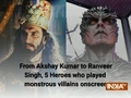 From Akshay Kumar to Ranveer Singh, 5 Heroes who played monstrous villains onscreen