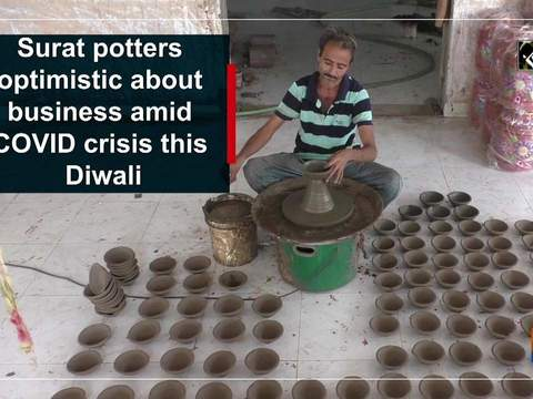 Surat potters optimistic about business amid COVID crisis this Diwali