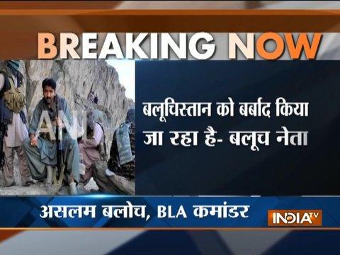 China, Pakistan plundering Baloch resources, says BLA commander Aslam Baloch