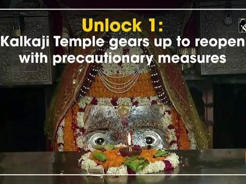 Unlock 1: Kalkaji Temple gears up to reopen with precautionary measures