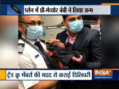 Baby boy born on board IndiGo Delhi-Bengaluru flight