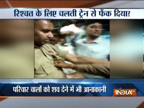 After tiff, policemen throw man out of running train in Bihar