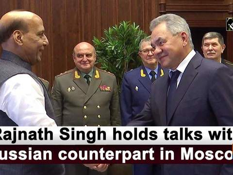 Rajnath Singh holds talks with Russian counterpart in Moscow