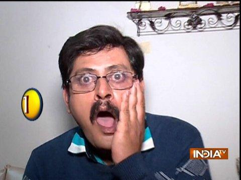 Angoori Bhabhi slaps Tiwariji