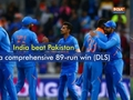 India extend World Cup-winning streak to 7-0 after a brilliant 89-run win (DLS) over Pakistan