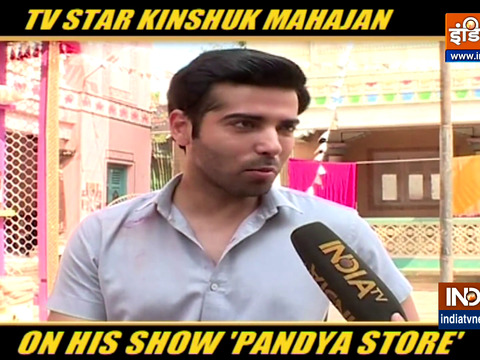Actor Kinshuk Mahajan talks about his new show Pandya Store
