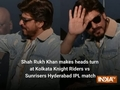 Shah Rukh Khan makes heads turn at Kolkata Knight Riders vs Sunrisers Hyderabad IPL match