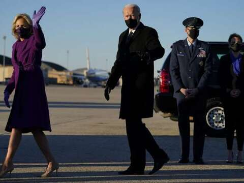 Joe Biden returns to Washington DC; to be sworn in as the 46th US President today