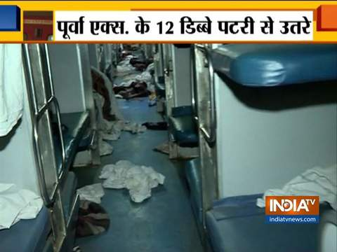 20 passengers injured as Howrah-New Delhi Poorva Express derails near Kanpur