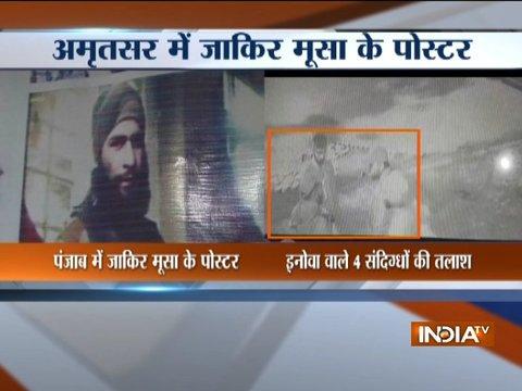 Top terrorist Zakir Musa spotted in Punjab's Amritsar, high alert issued