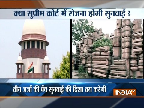 Ayodhya dispute: SC to hear Ram Mandir-Babri Masjid case today
