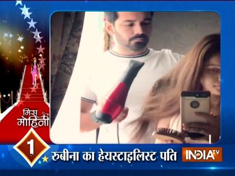 Abhinav Shukla turns stylist for wife Rubina Dilaik