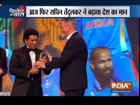 2011 वर्ल्ड कप के लिए सचिन तेंदुलकर को मिला लॉरियस स्पोर्टिंग मोमेंट अवॉर्ड