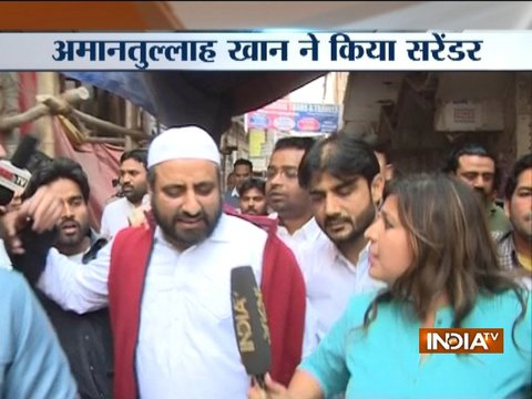 Delhi Chief Secretary assault case: AAP MLA Amanatullah Khan surrenders at Jamia Police Station