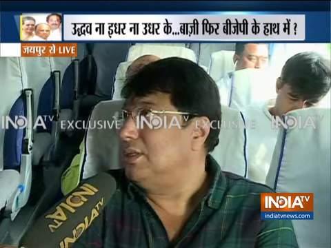 आज जयपुर से मुंबई रवाना होंगे कांग्रेस विधायक