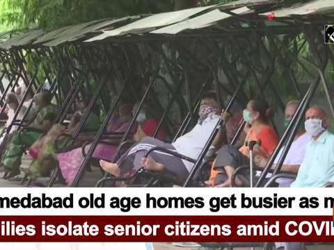 Ahmedabad old age homes get busier as more families isolate senior citizens amid COVID-19