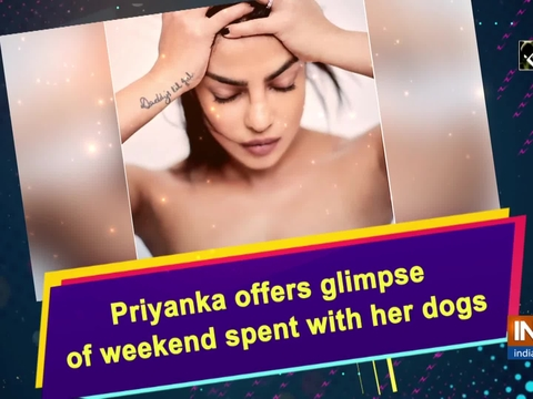Priyanka offers glimpse of weekend spent with her dogs