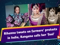 Rihanna tweets on farmers protests' in India, Kangana calls her 'fool'