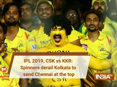 IPL 2019, CSK vs KKR: Spinners derail Kolkata to send Chennai at the top