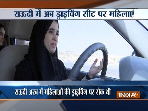 Saudi Arabia lifts the controversial driving ban on women