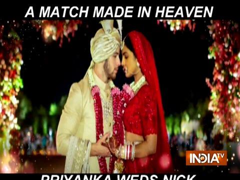 Priyanka weds Nick: A match made in heaven