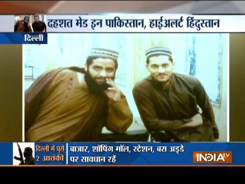 दिल्ली में घुसे जैश-ए-मोहम्मद के दो खूंखार आतंकी, हाई अलर्ट पर पुलिस