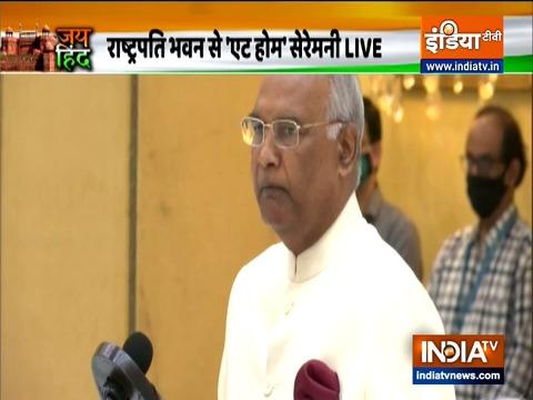 राष्ट्रपति भवन में हुआ 'एट होम' सेरेमनी का आयोजन, इंडिया टीवी के एडिटर इन चीफ रजत शर्मा भी हुए शामिल