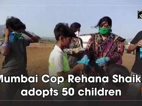 Mumbai Cop Rehana Shaikh adopts 50 children