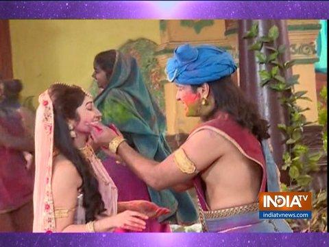 राधा कृष्ण: होली के रंगों में डूबे राधा-कृष्ण