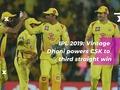 IPL 2019: MS Dhoni powers Chennai to 8-run win over Rajasthan