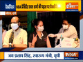 Vaccination of media persons begins in Noida