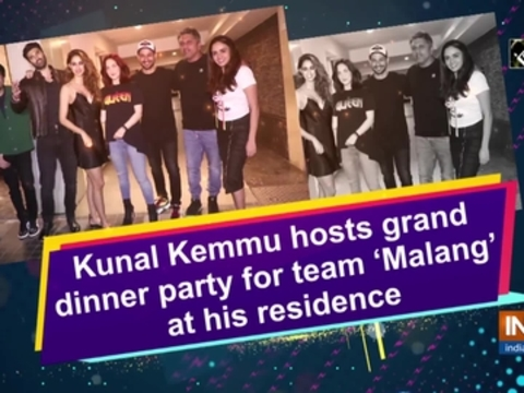 Kunal Kemmu hosts grand dinner party for team 'Malang' at his residence