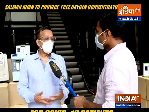 Salman Khan to provide free oxygen concentrator for COVID-19 patients